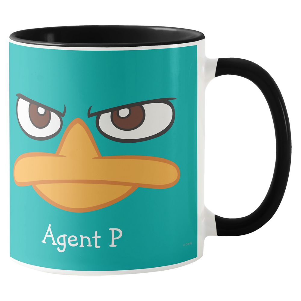 Agent P Mug – Phineas and Ferb – Customized