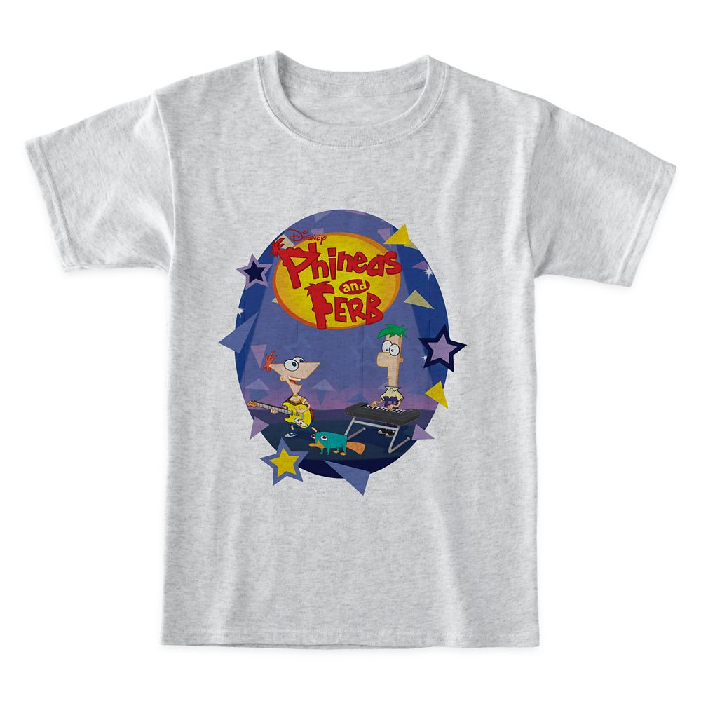 Phineas and Ferb T-Shirt for Boys – Customized