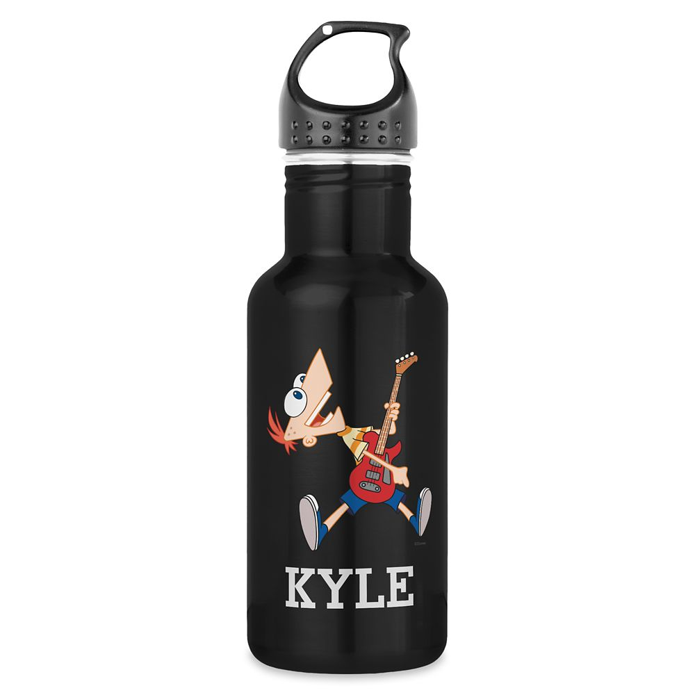 Phineas Stainless Steel Water Bottle – Phineas and Ferb – Customized
