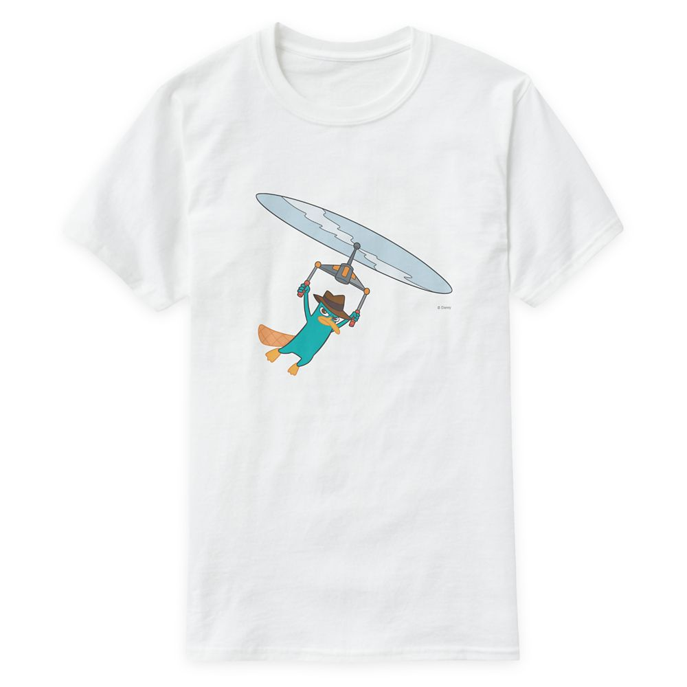 Agent P T-Shirt for Men – Phineas and Ferb – Customized