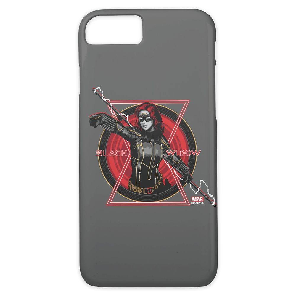 Black Widow Hourglass Stencil Badge Case-Mate iPhone 8/7 Case – Customized