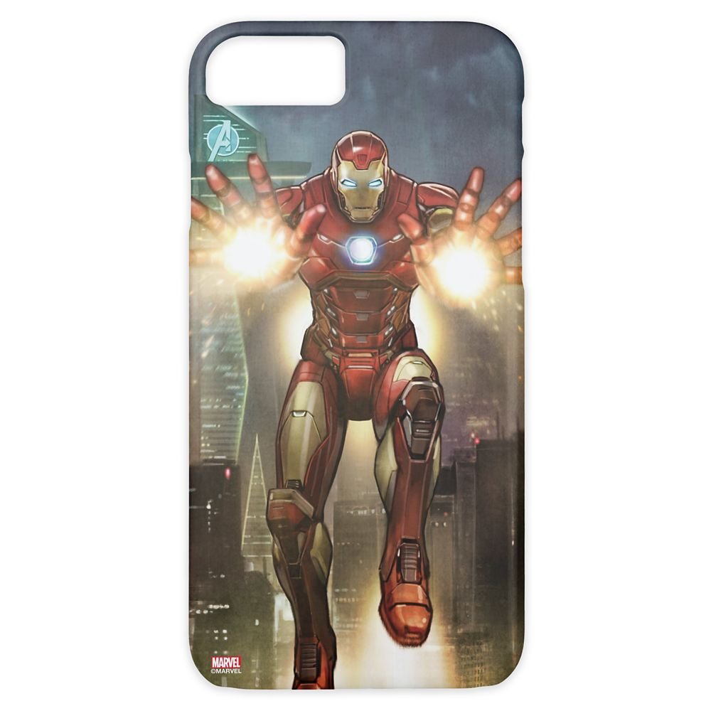 Iron Man Jets In Mid-Air with Repulsors Case-Mate iPhone 8/7 Case