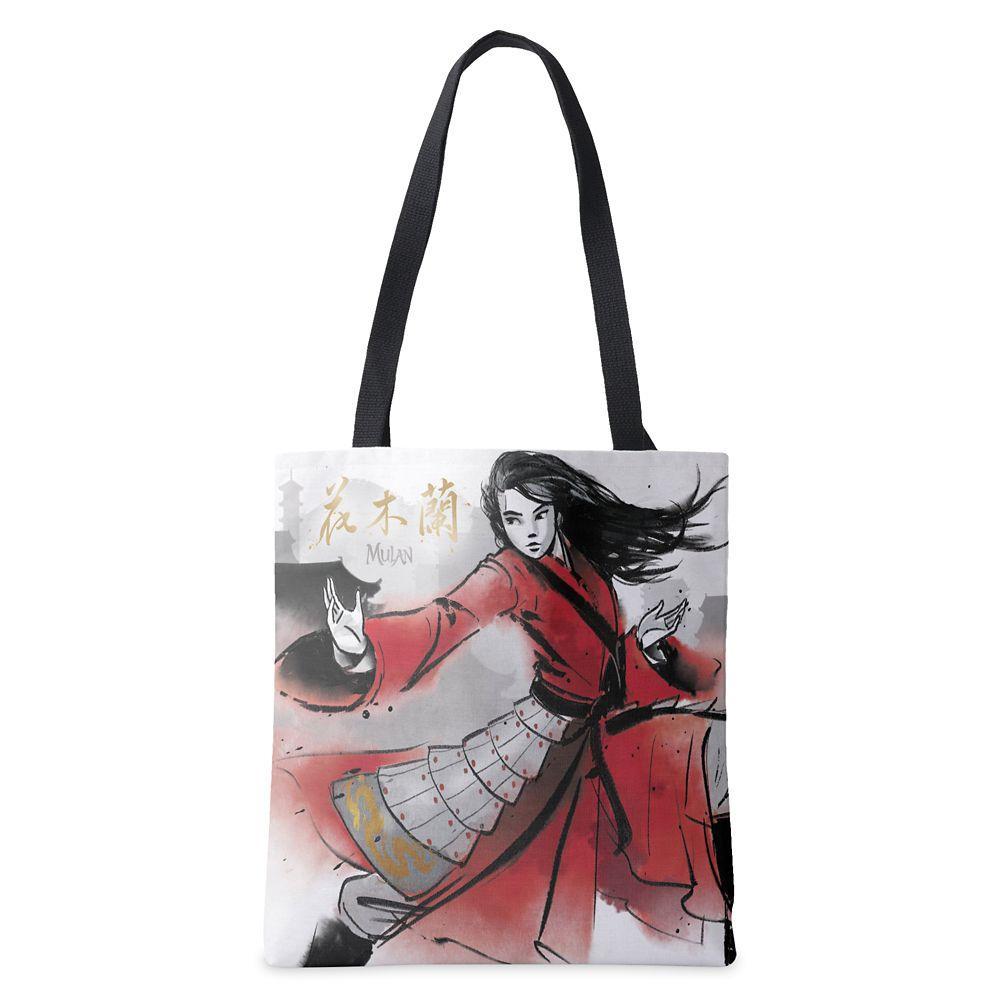 Mulan Defending Village Watercolor Tote Bag – Live Action Film – Customized