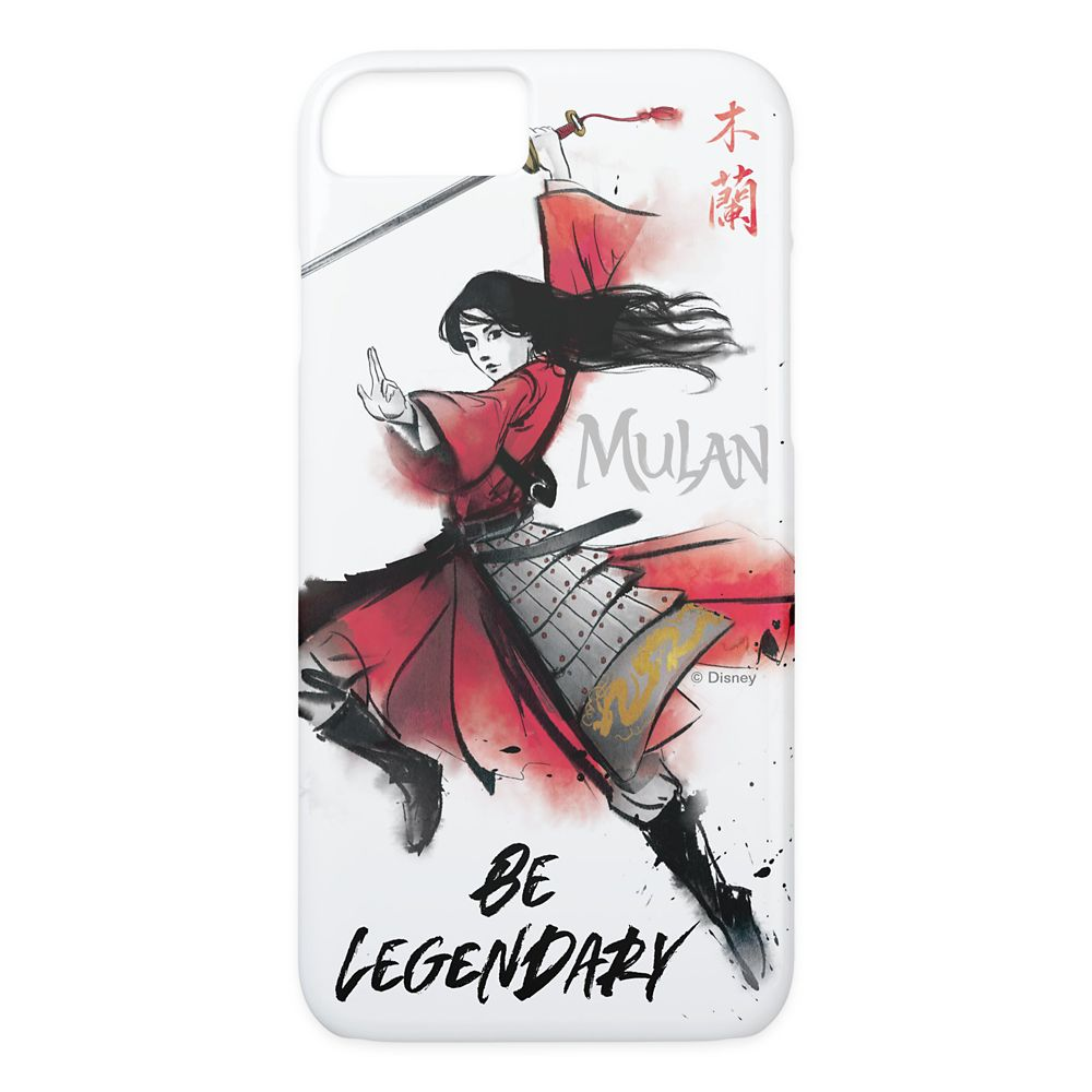 Mulan ''Be Legendary'' Watercolor Case-Mate iPhone X Case – Live Action Film – Customized