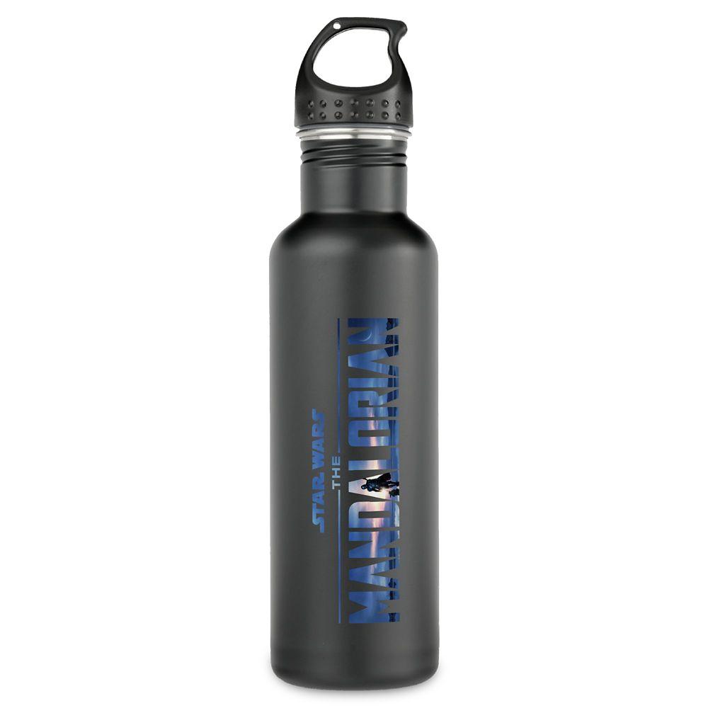 Star Wars: The Mandalorian Season 2 Logo Stainless Steel Water Bottle