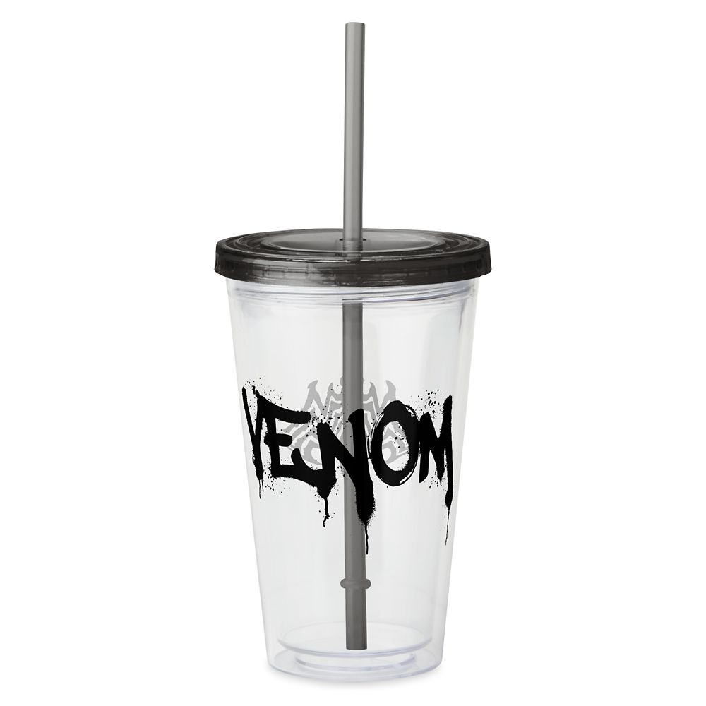 Venom Name Spraypaint Acrylic Tumbler – Customized