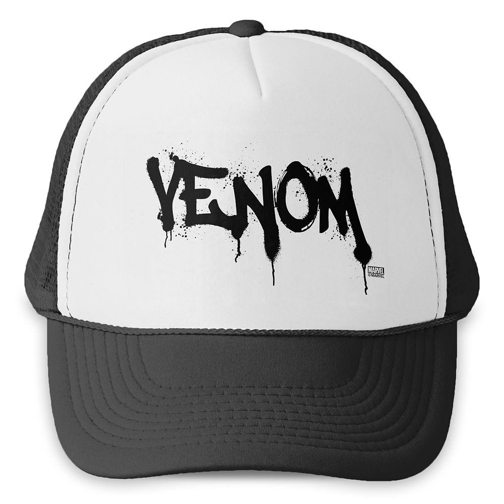 Venom Name Spraypaint Trucker Hat – Customized