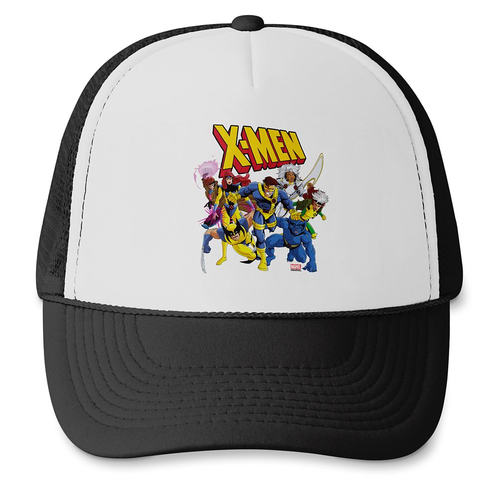 X-Men Group and Logo Trucker Hat – Customized
