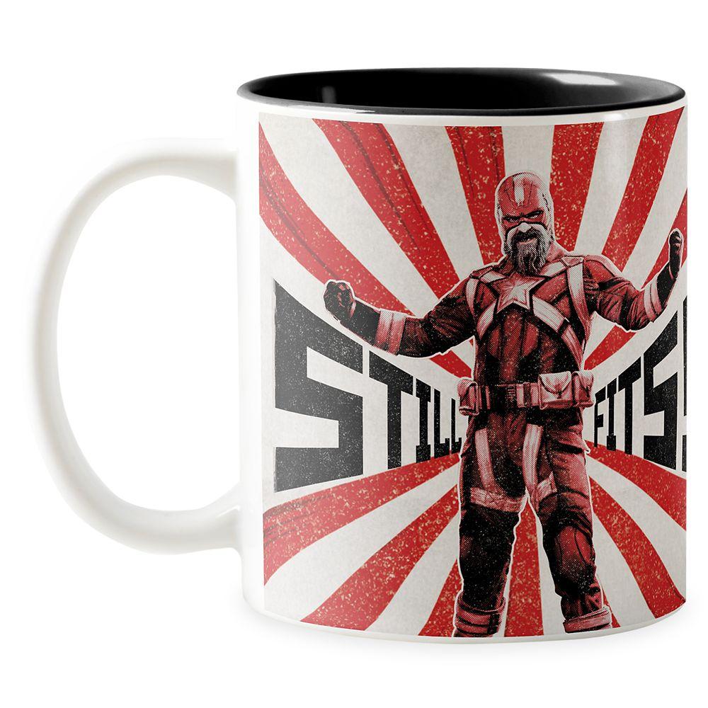 "shopdisney.com - Red Guardian ""Still Fits!"" Two-Tone Coffee Mug  Customized Official shopDisney 16.95 USD"