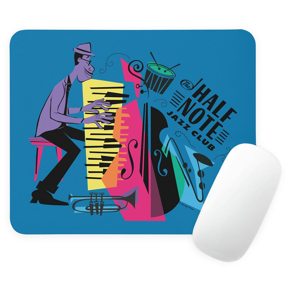 Joe Gardner - The Half Note Jazz Club Graphic Mouse Pad – Soul – Customized