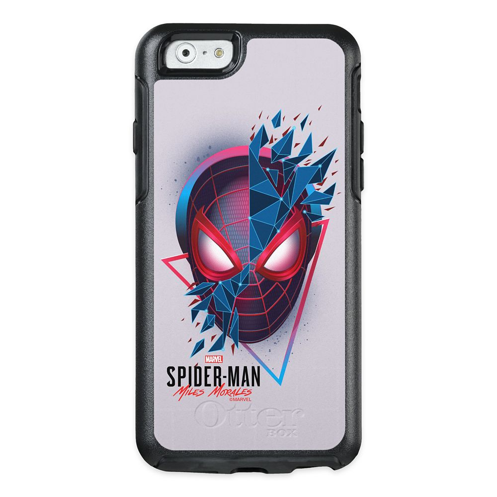 Spider-Man: Miles Morales Geometric Shard Mask OtterBox iPhone Case –Customized