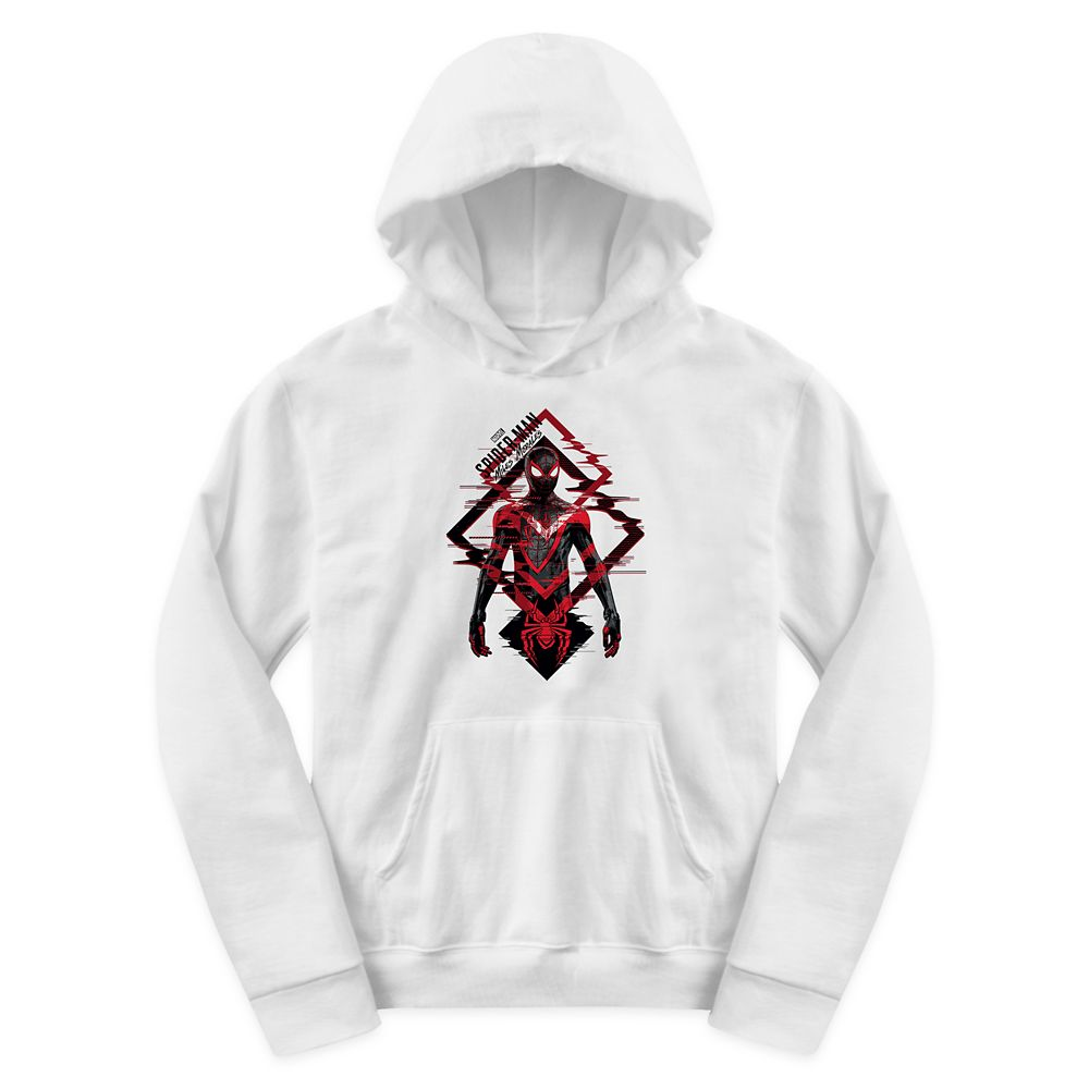 Spider-Man: Miles Morales Glitch Pullover Hoodie for Kids – Customized