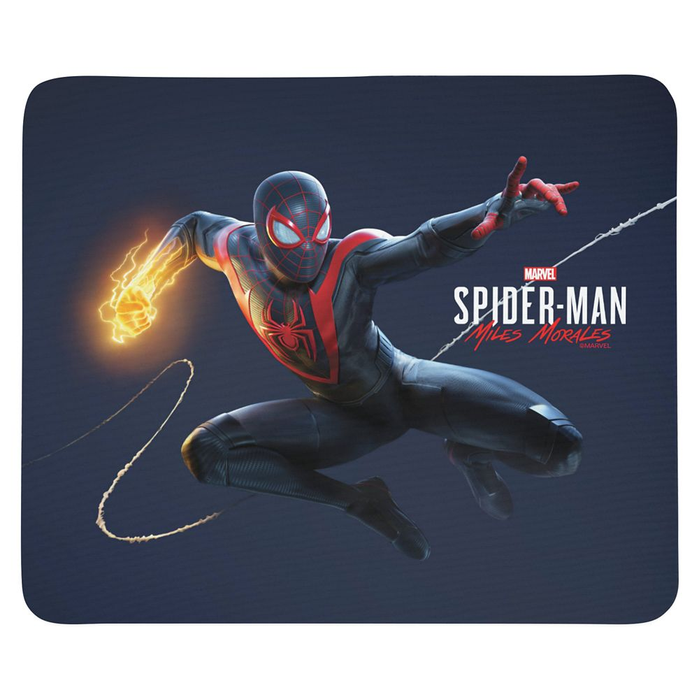 Spider-Man: Miles Morales Web Swinging Mouse Pad – Customized