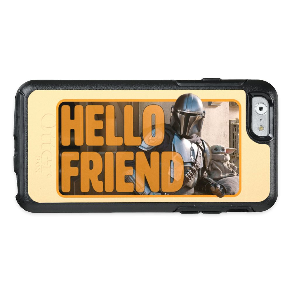 The Mandalorian & The Child Outside ''Hello Friend'' OtterBox iPhone Case – Customized