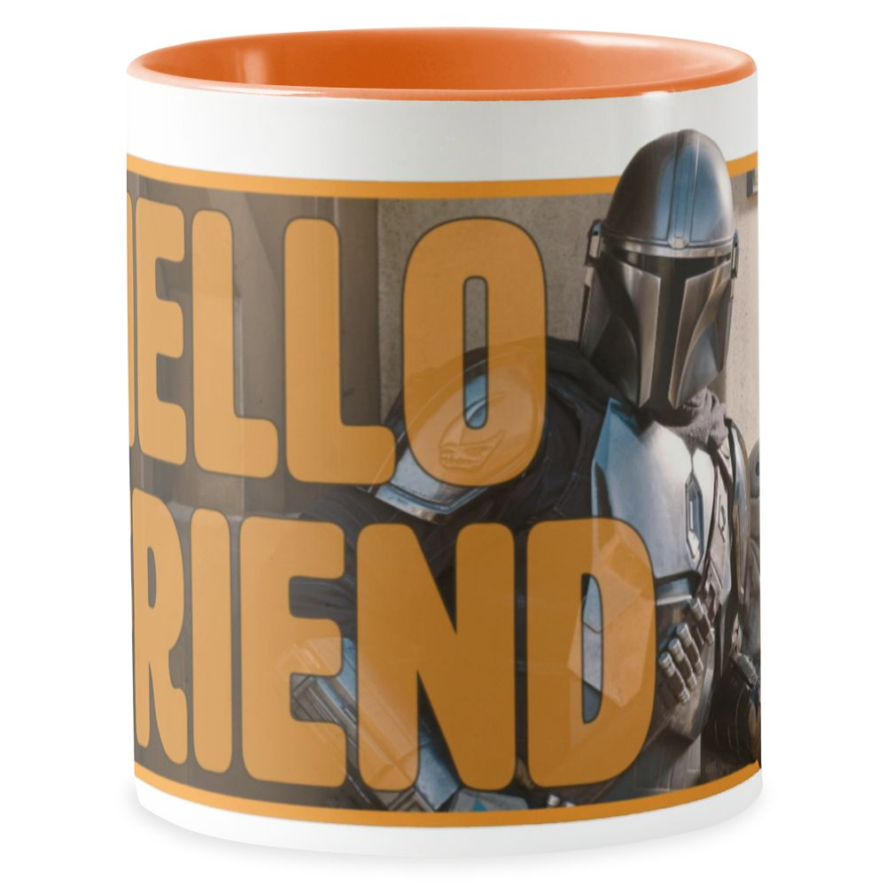 The Mandalorian & The Child Outside ''Hello Friend'' Mug – Customized