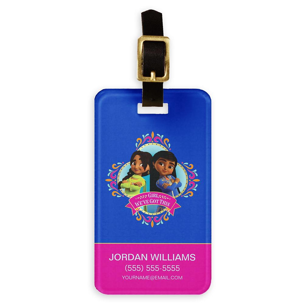 Mira & Priya ''We've Got This'' Luggage Tag – Mira, Royal Detective – Customized