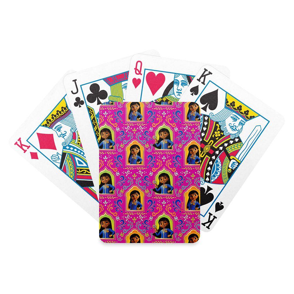 Mira Pink Ornate Pattern Bicycle Playing Cards – Mira, Royal Detective – Customized