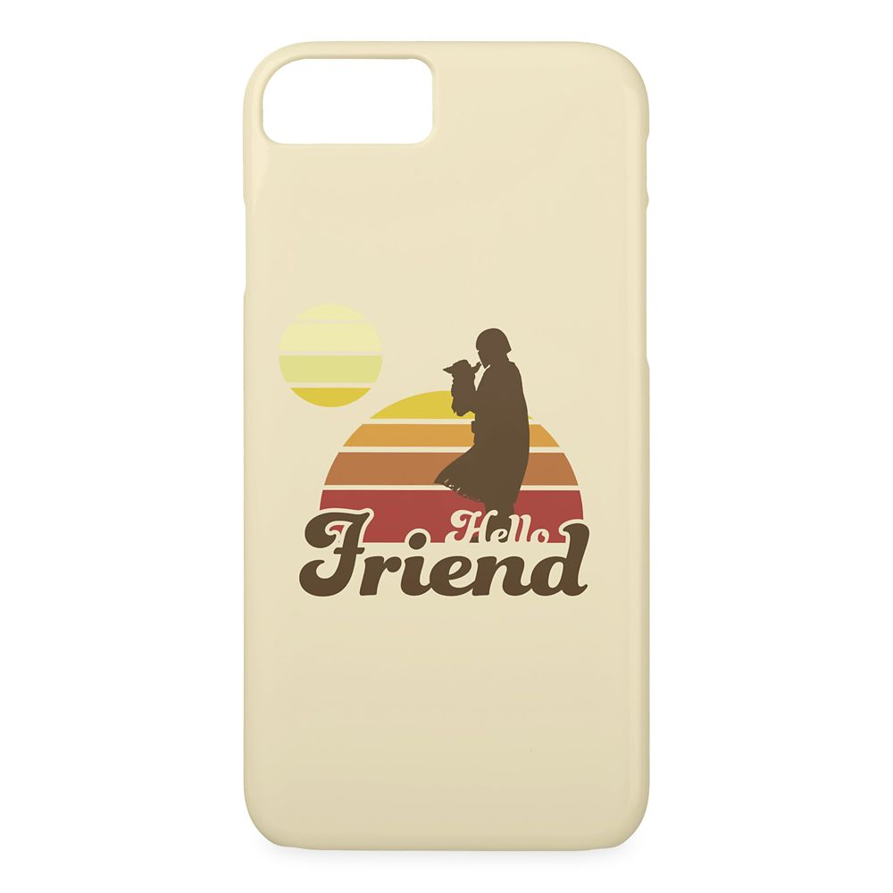 The Mandalorian And The Child ''Hello Friend'' Case-Mate iPhone Case – Star Wars: The Mandalorian – Customized