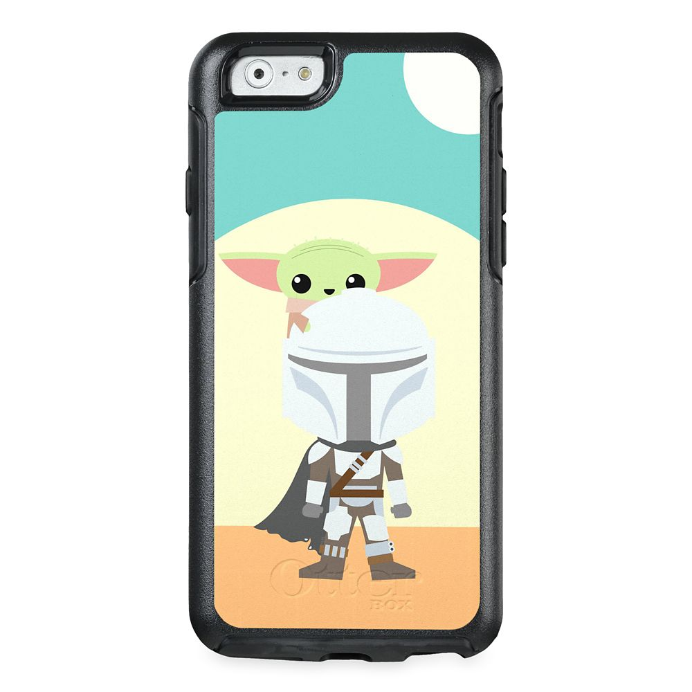 The Child Standing on The Mandalorian OtterBox iPhone Case – Star Wars: The Mandalorian – Customized