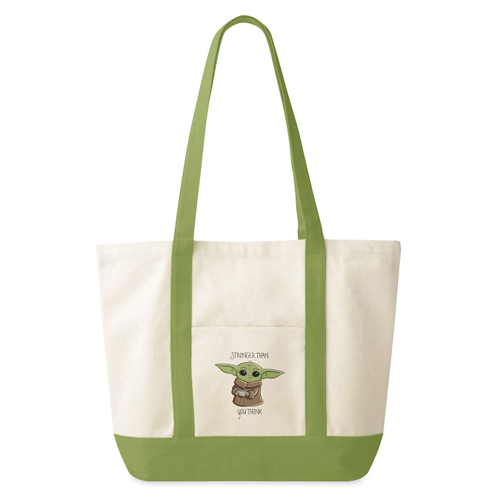 shopdisney.com - The Child Holding Bowl Sketch Art Tote Bag  Star Wars: The Mandalorian  Customized Official shopDisney 26.95 USD