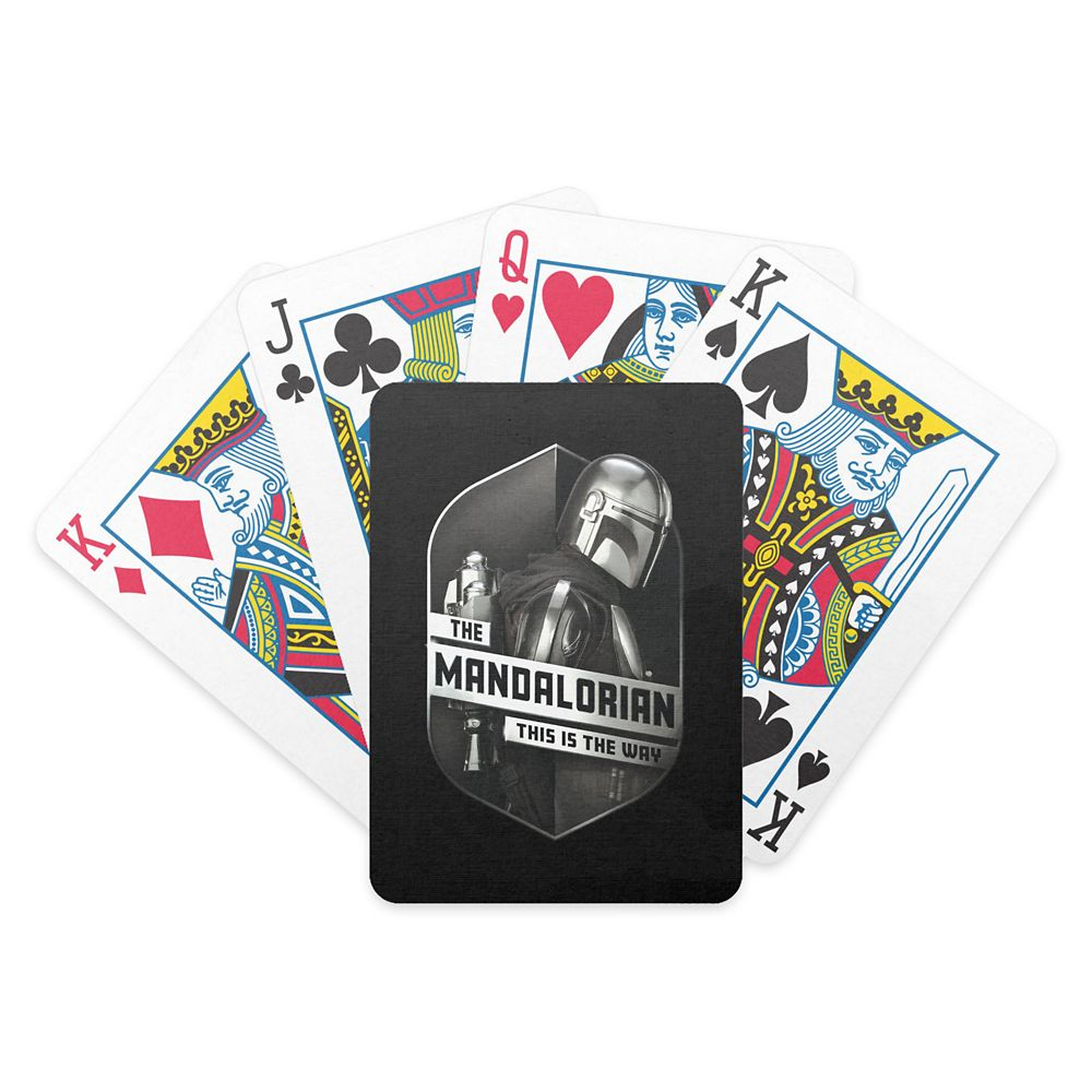 The Mandalorian ''This Is The Way'' Bicycle Playing Cards – Star Wars: The Mandalorian – Customized