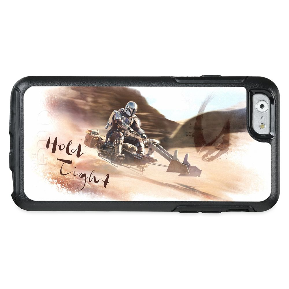 The Mandalorian and Child ''Hold Tight'' OtterBox iPhone Case – Star Wars: The Mandalorian – Customized