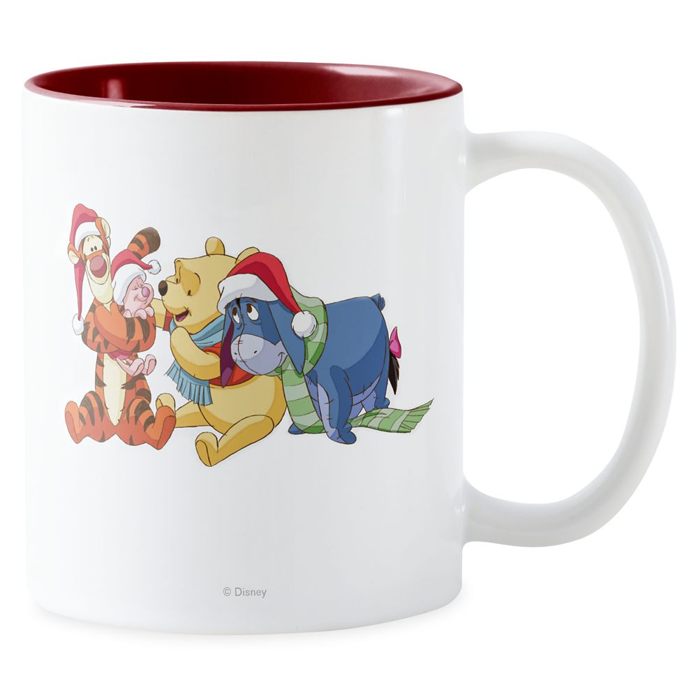 Winnie the Pooh&Friends Holiday Two-Tone Mug – Customized