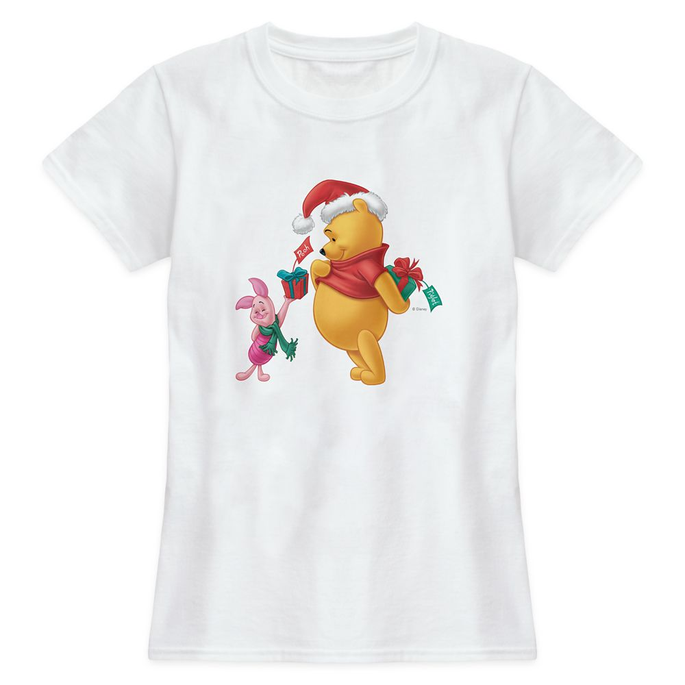 Piglet Gifting WInnie the Pooh T-Shirt for Women – Customized