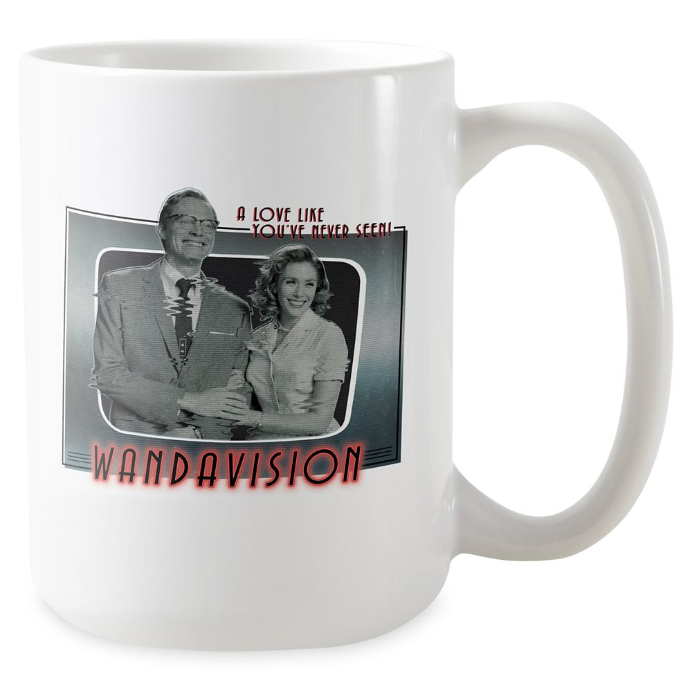 WandaVision Vintage TV Set Coffee Mug – Customized