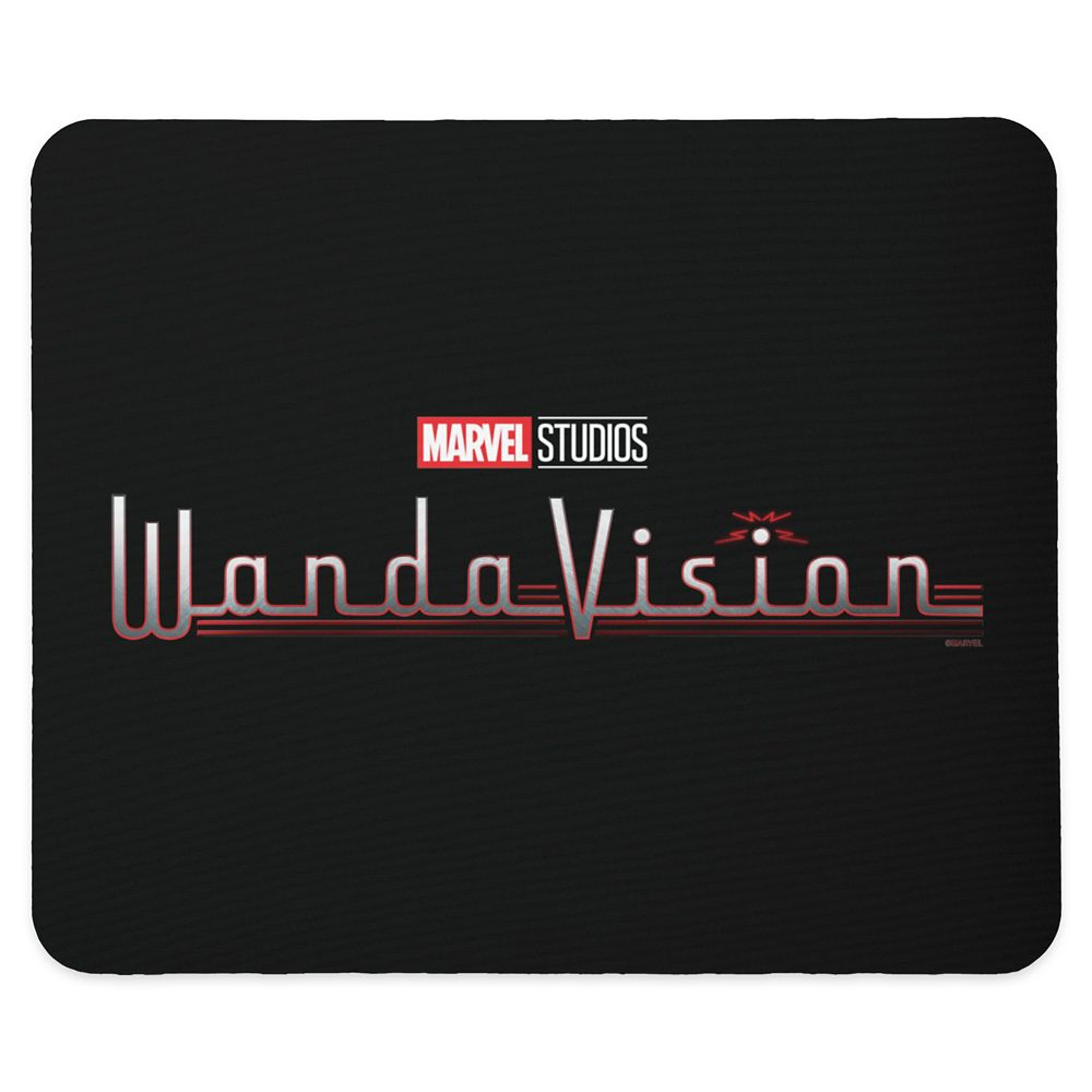 WandaVision Logo Mouse Pad – Customized