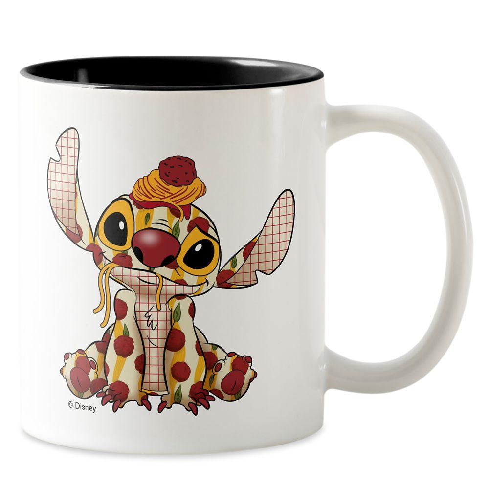Stitch Crashes Disney Two-Tone Coffee Mug – Lady and the Tramp – Customized