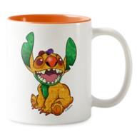 Stitch Crashes Disney Two-Tone Coffee Mug – The Lion King – Customized