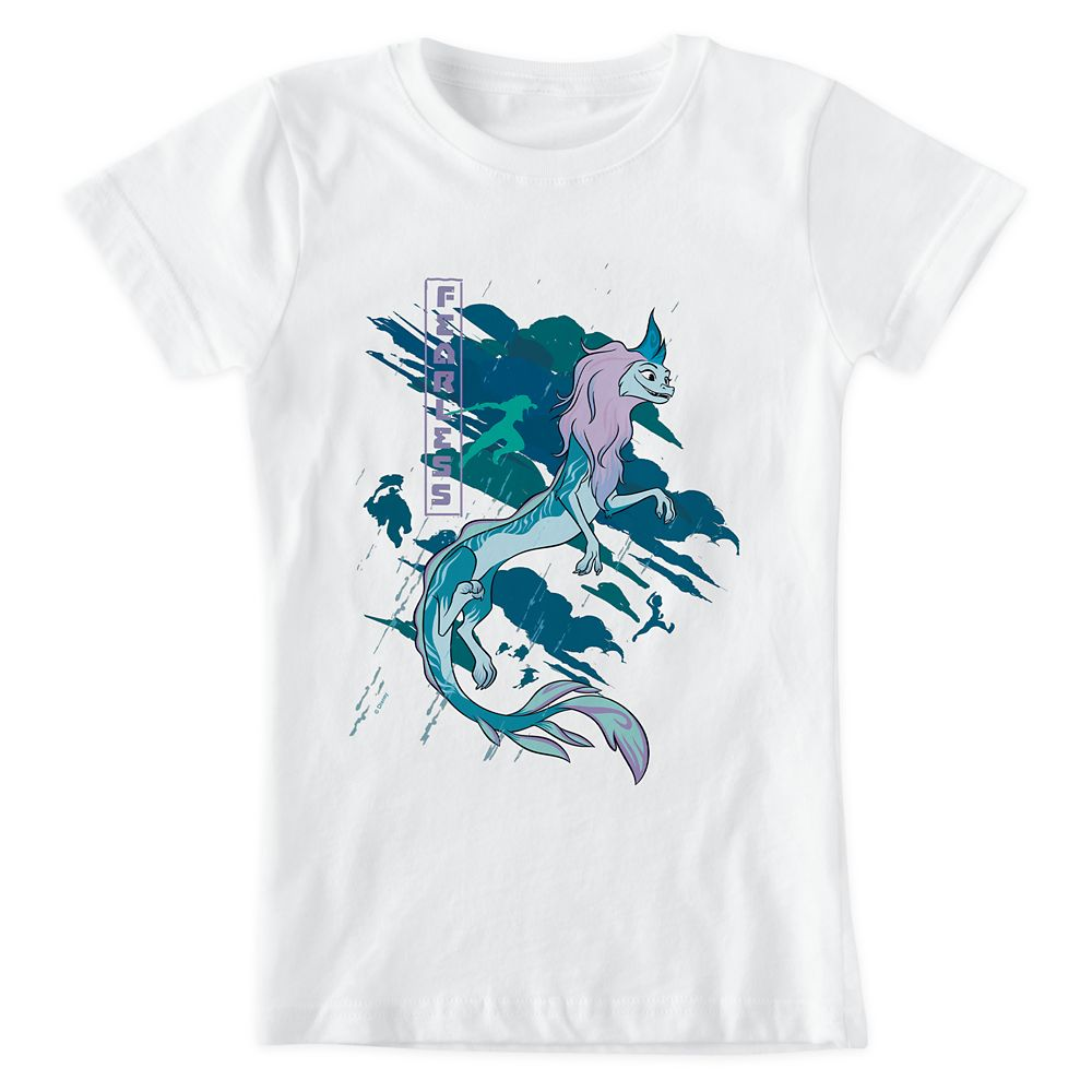 Raya and the Last Dragon ''Fearless'' T-Shirt for Girls – Customized