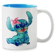 Stitch Crashes Disney Two-Tone Coffee Mug – The Little Mermaid – Customized