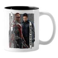The Falcon and The Winter Soldier Character Badge Two-Tone Coffee Mug – Customized