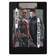The Falcon and The Winter Soldier Character Badge Clipboard – Customized