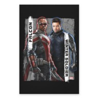 The Falcon and The Winter Soldier Character Badge Canvas Print – Customized