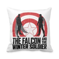 The Falcon and The Winter Soldier Silhouettes Throw Pillow – Customized
