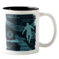 The Falcon and The Winter Soldier Schematic Two-Tone Coffee Mug – Customized