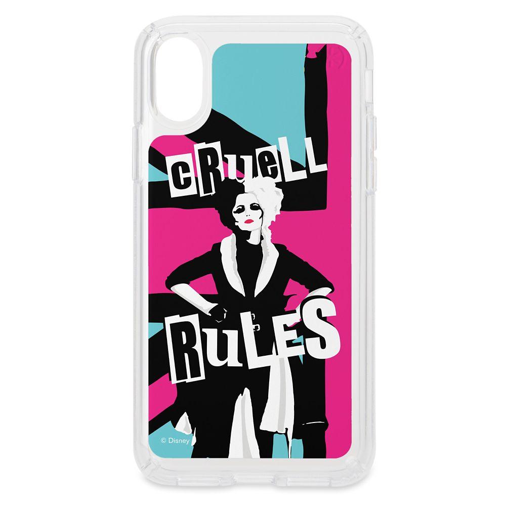 Cruella ''Cruell Rules'' Speck iPhone Case – Customized