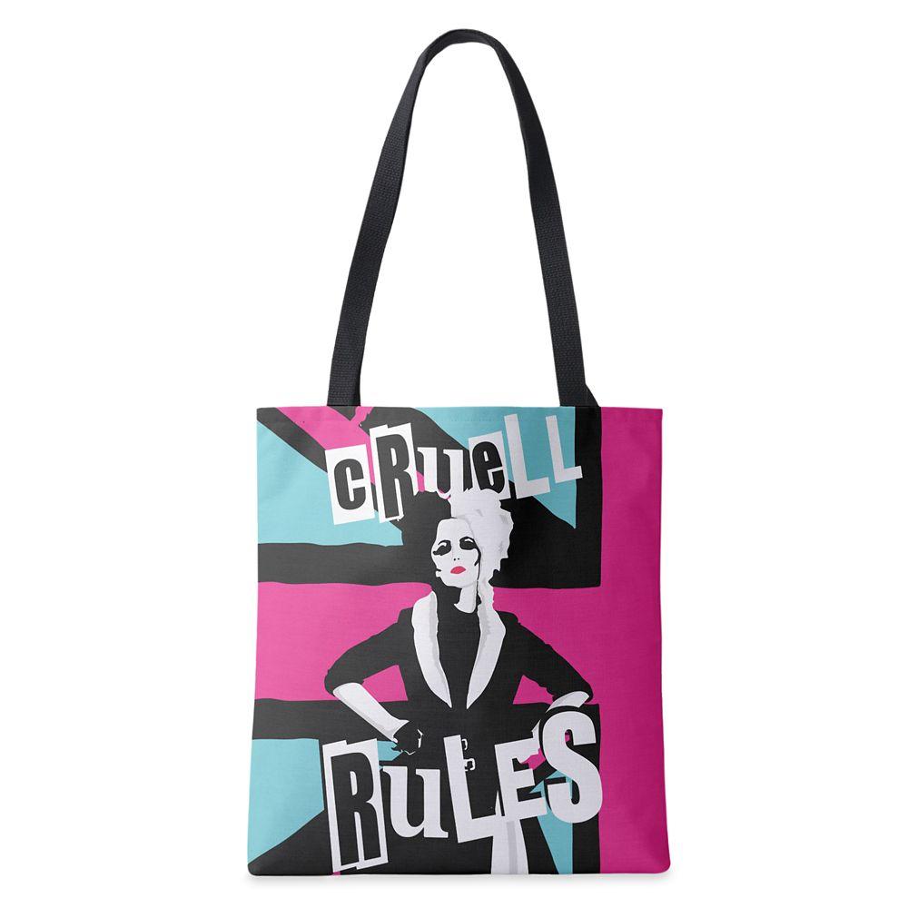 Cruella ''Cruell Rules'' Tote Bag – Customized