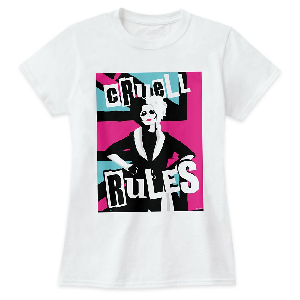 Cruella ''Cruell Rules'' T-Shirt for Women – Customized