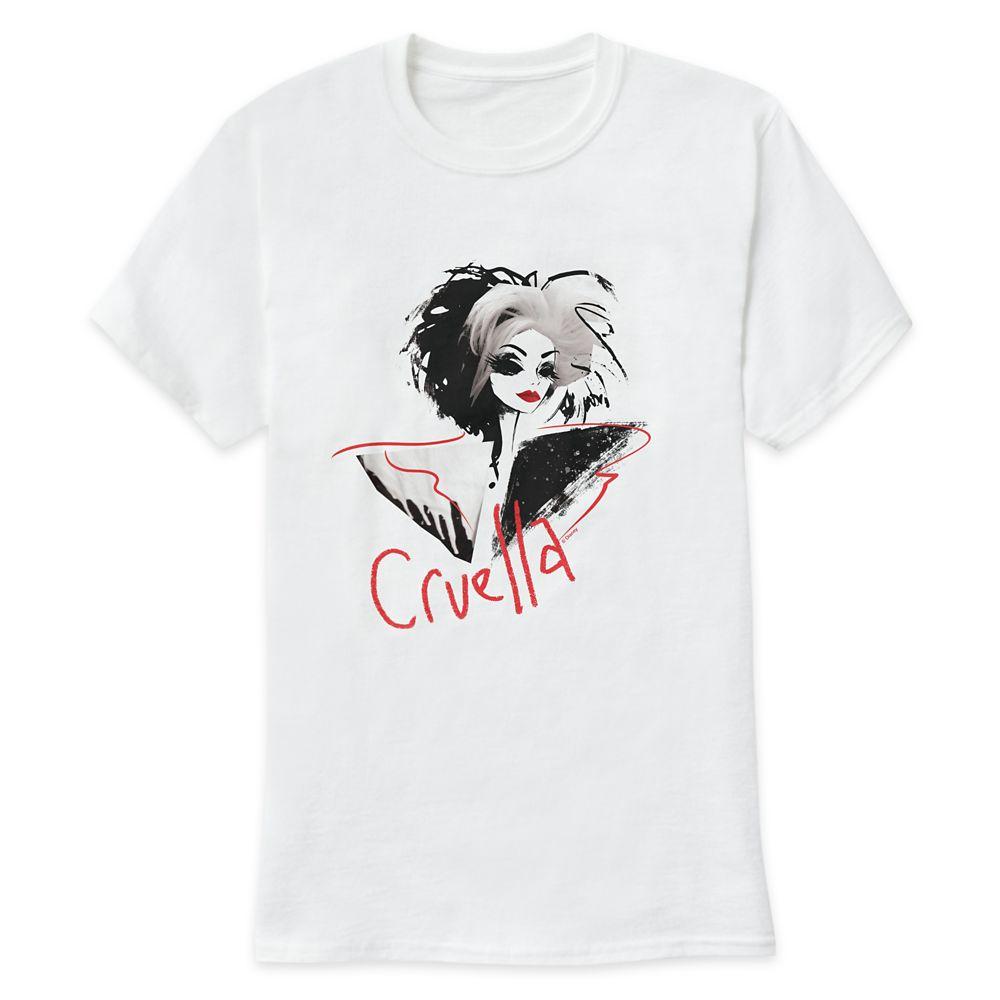 Cruella Fashion Illustration T-Shirt for Men – Customized