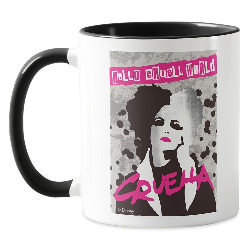 Cruella ''Hello Cruell World'' Mug – Customized