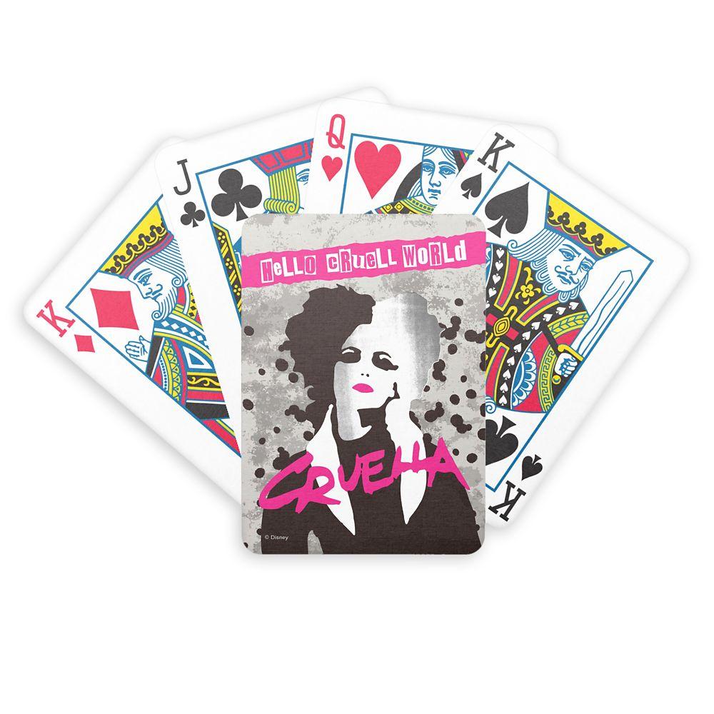 Cruella ''Hello Cruell World'' Bicycle Playing Cards – Customized