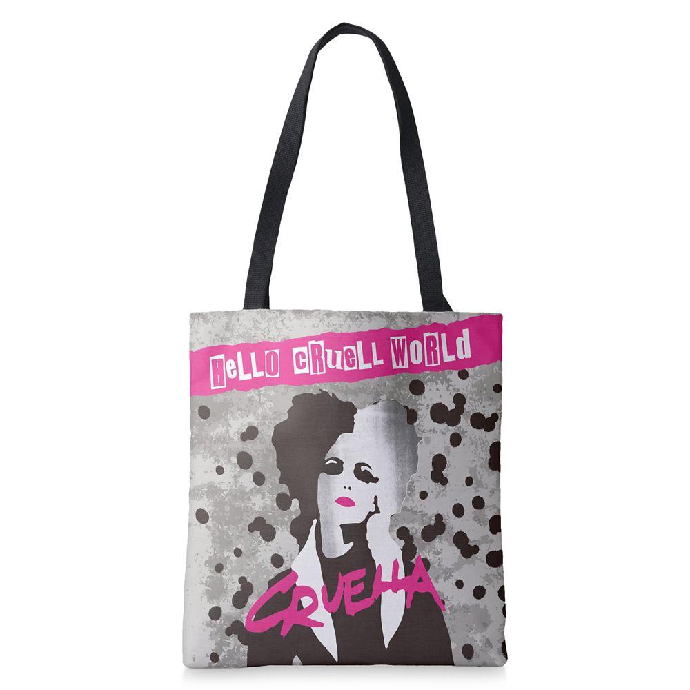 Cruella ''Hello Cruell World'' Tote Bag – Customized