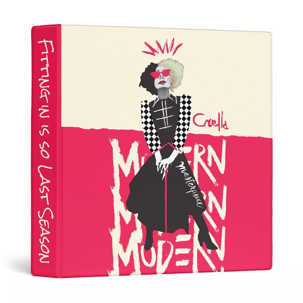 Cruella Modern Masterpiece Three Ring Binder – Customized