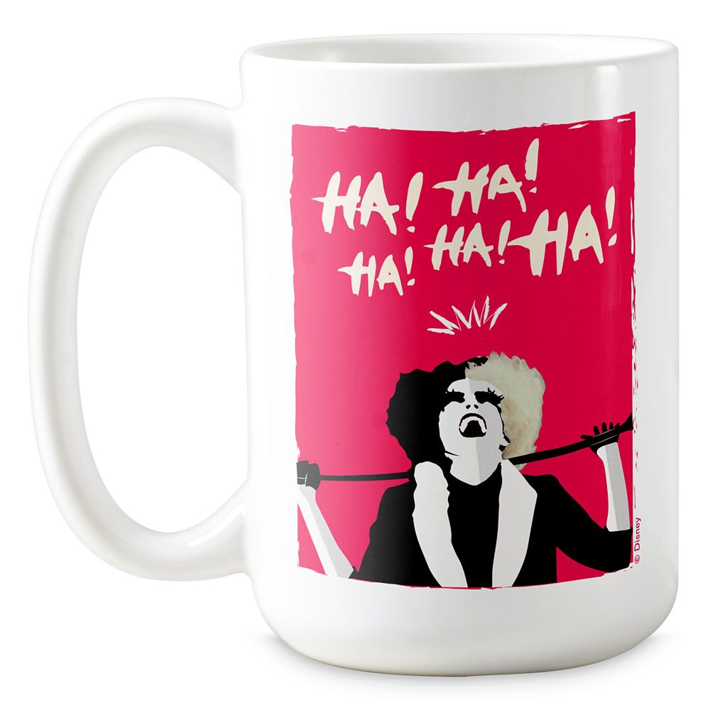 Cruella Signature Laugh Coffee Mug – Customized