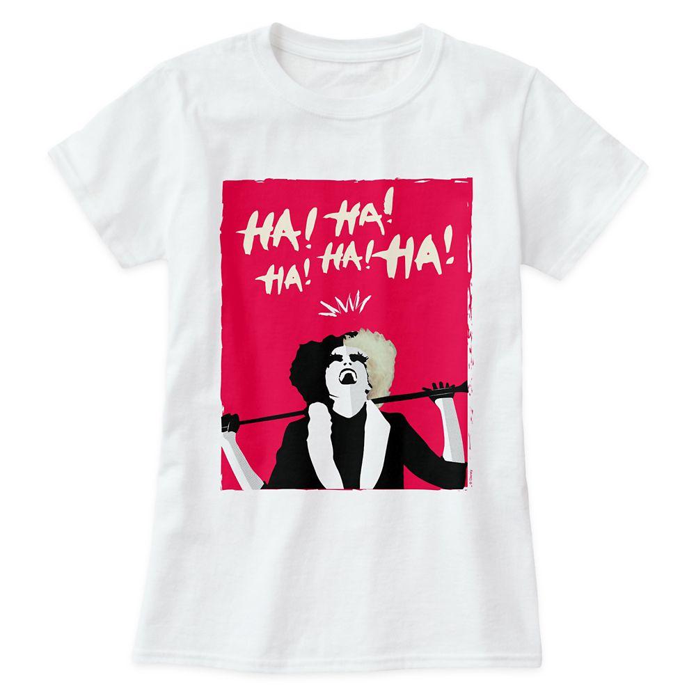 Cruella Signature Laugh T-Shirt for Women – Customized