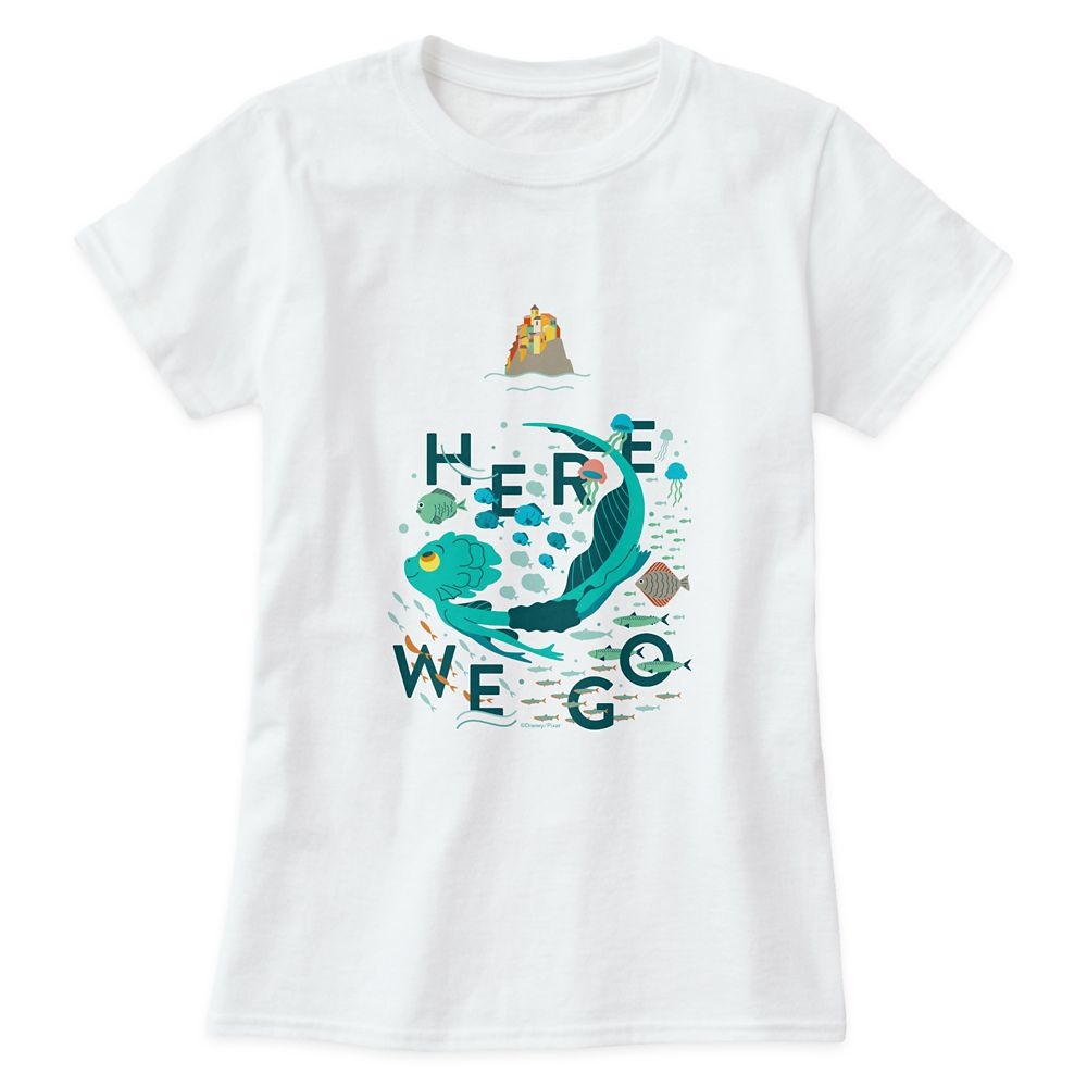 Luca ''Here We Go'' T-Shirt for Adults – Customized